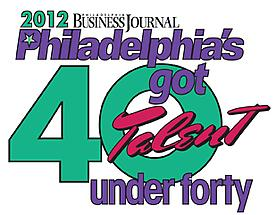 Bridgette Mayer is named one of Philadelphia Business Journal's 40 Under 40!