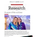 "Mann, Allyson. ""A Sense of the Sublime,"" University of Georgia Research Magazine, Spring 2019"