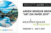 "Arden Bendler Browning ""Art on Paper 2019"""