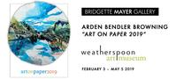 """Arden Bendler Browning in """"Art on Paper 2019"""" at Weatherspoon Art Museum"""
