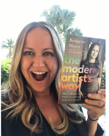"Bridgette Mayer to release second book: ""The Modern Artist's Way: How to Build a Successful Career as a Creative in the 21st Century"""
