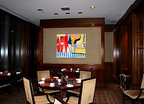 Mark Brosseau featured at the Fountain Restaurant at the Four Seasons Philadelphia