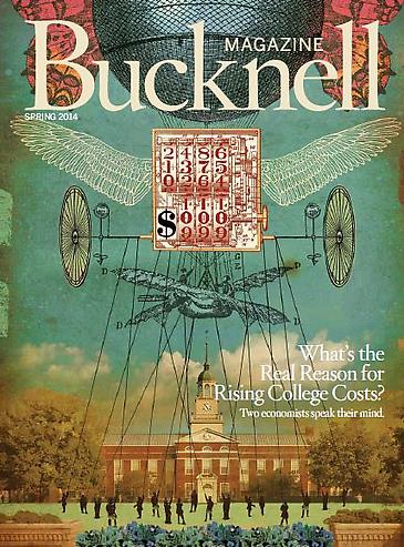 Bridgette Mayer Featured in Bucknell Magazine