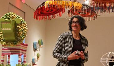 Newsworks features Shelley Spector's exhibition at the Philadelphia Museum of Art