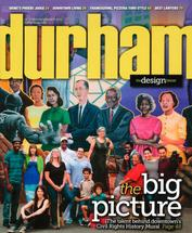 Damian Stamer featured in Durham Magazine