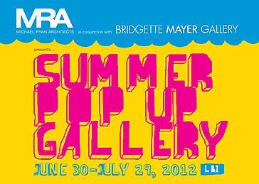 Bridgette Mayer Gallery and Michael Ryan Architects host Pop Up Gallery on Long Beach Island
