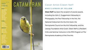 Eileen Neff is the cover artist of Catamaran Magazine