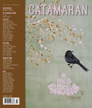 Kaoru Mansour is the Cover Artist of Catamaran Literary Reader