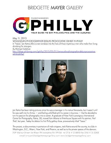 Interview between Jan Rattia and Michael Callahan in GPhilly
