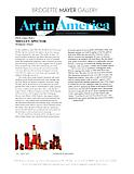"Hirsh, Jennie. ""Shelley Spector."" Art in America. May 2013."