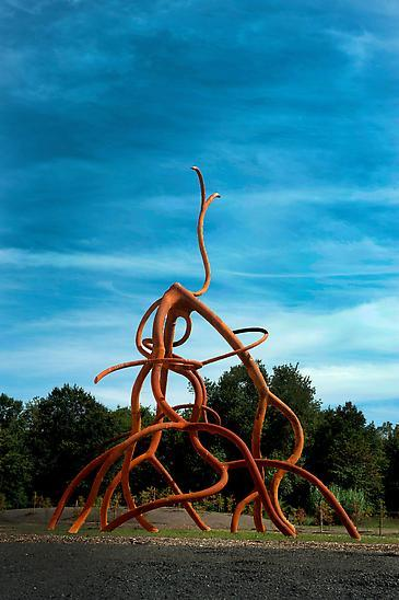 Steve Tobin: Aerial Roots at Grounds for Sculpture, Hamilton, NJ