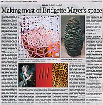 Making most of Bridgette Mayer's space