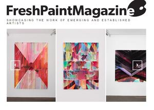 Nathan Pankratz in Fresh Paint Magazine