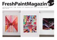Nathan Pankratz in Fresh Paint Magazine