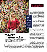 Bridgette Mayer featured in Philadelphia Style Magazine