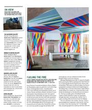 Bridgette Mayer Gallery mentioned in Philadelphia Style Magazine with Rebecca Rutstein and Dana Hargrove