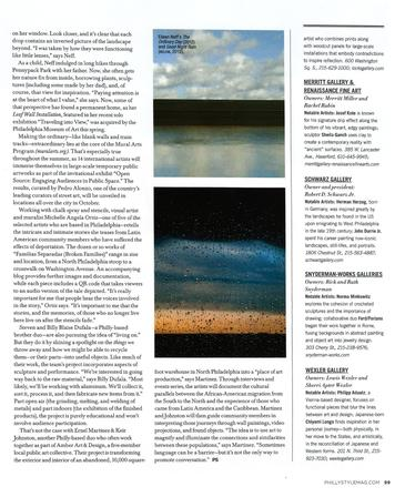 Eileen Neff interviewed for Philadelphia Style Magazine