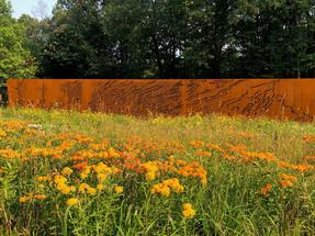Works by Rebecca Rutstein and Dina Wind at the Bower Sculpture Park featured in Broad Street Review