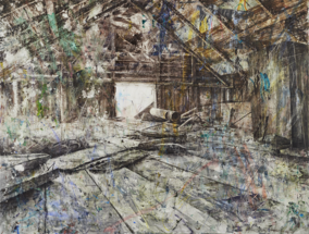 Damian Stamer Painting Acquired by Crystal Bridges