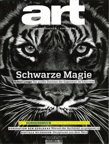 Damian Stamer featured in German art magazine