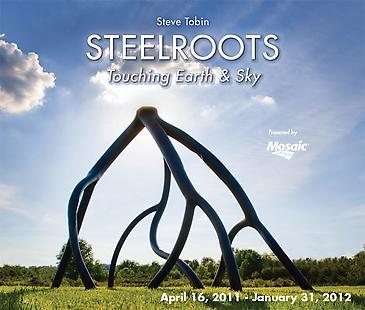 Steve Tobin: Steelroots - Touching Earth & Sky at the Minnesota Landscape Arboretum