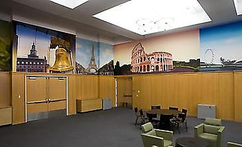 The Alter Hall Murals at Temple University's Fox School of Business