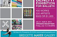 Benefit Exhibition for BalletX