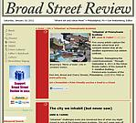 """Fabri, Anne R. """"The City We Inhabit (but never saw),"""" Broad Street Review, 7/9/11"""