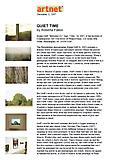 "Fallon, Roberta. ""Quiet Time,"" artnet Magazine, 12/11/07."