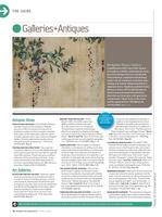 Kaoru Mansour exhibition featured in Where Magazine