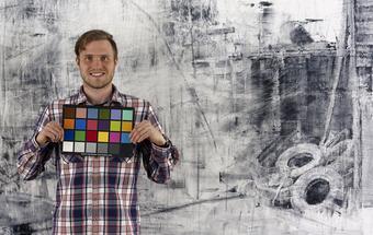 Bridgette Mayer interviews young, burgeoning artist Damian Stamer