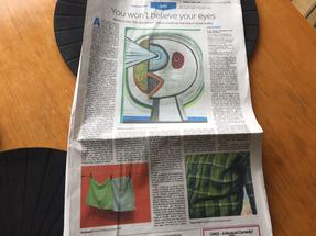 Eileen Neff is featured in Philadelphia Inquirer as the juror of the 78th Woodmere Annual